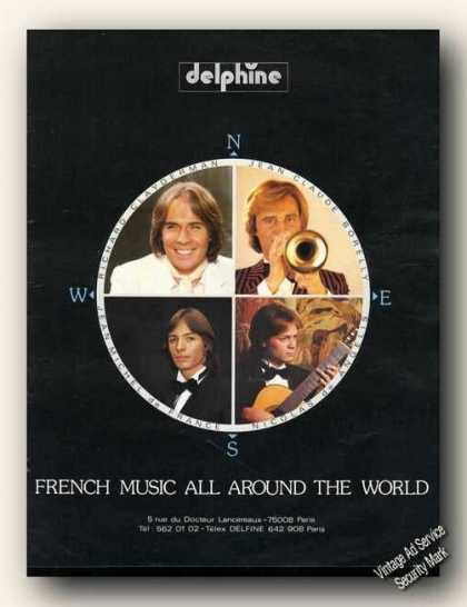 French Music All Around the World Delphine (1982)