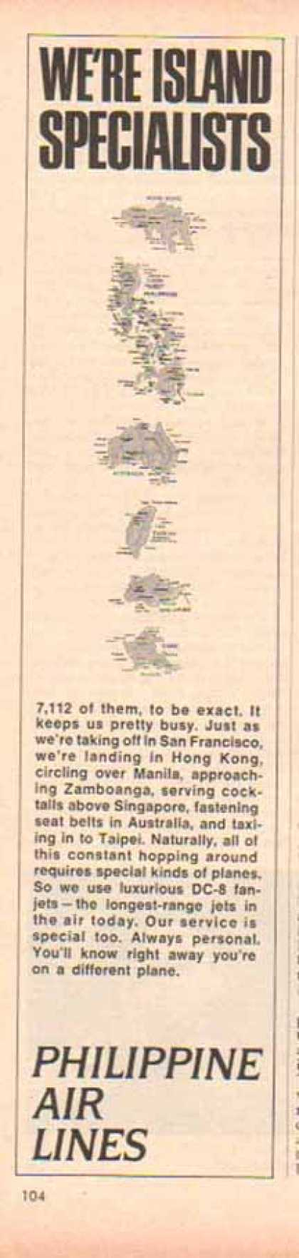 Philippine Air Lines – 7112 Islands (1966)