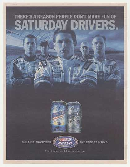 NASCAR Saturday Drivers Busch Beer (2004)