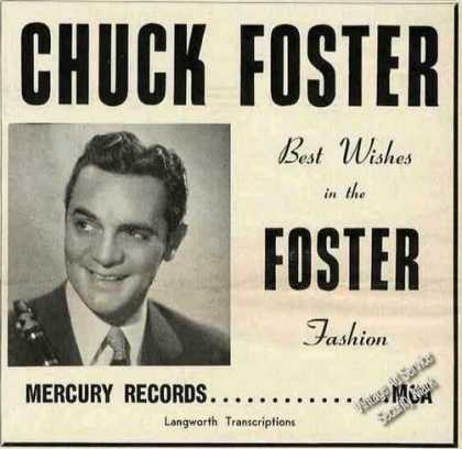 Chuck Foster Photo Music Trade (1954)