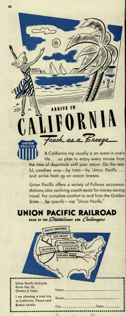Union Pacific Railroad's Colorado – Shopping for Mountains? (1947)