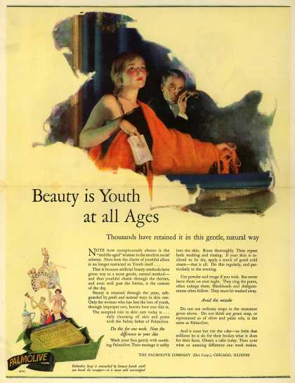 Palmolive Company's Palmolive Soap – Beauty is Youth at all Ages (1926)