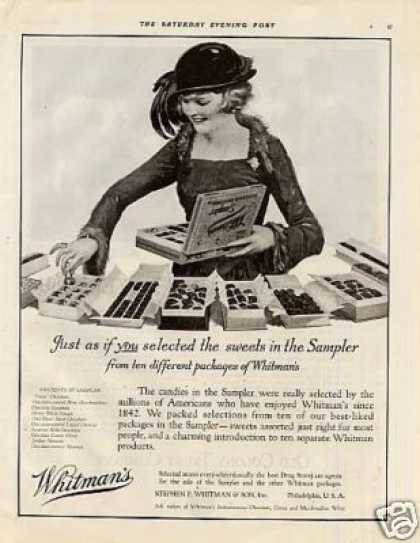 Whitman&#8217;s Chocolate Candy (1920)
