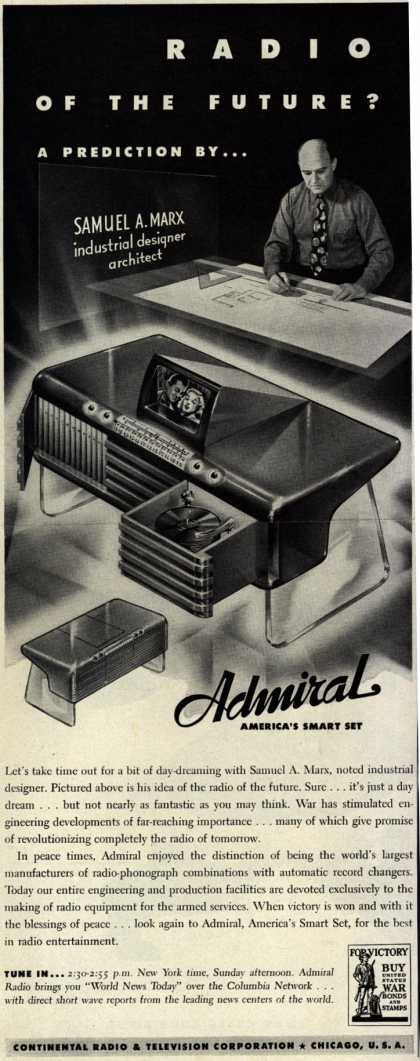 Admiral Radio's Radio – Radio of the Future? (1942)