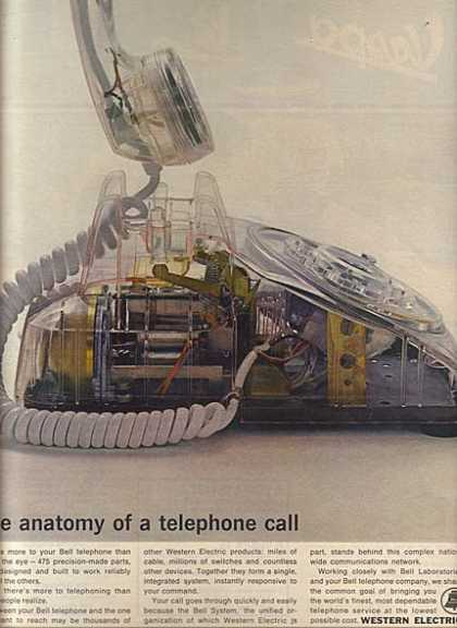"Western Electric's ""The anatomy of a telephone call"" (1964)"