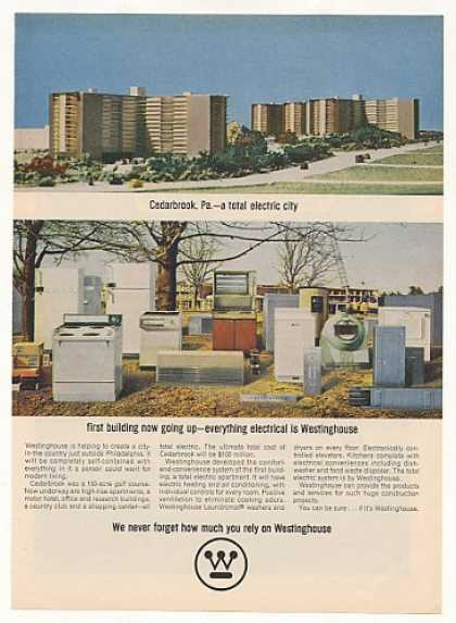 Cedarbrook PA Total Electric City Westinghouse (1963)