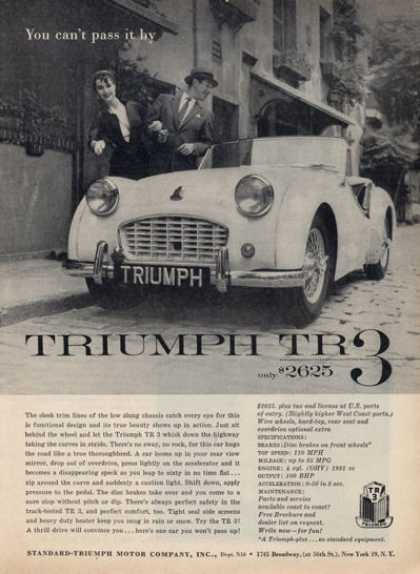Triumph Tr 3 Car Coupe (1957)
