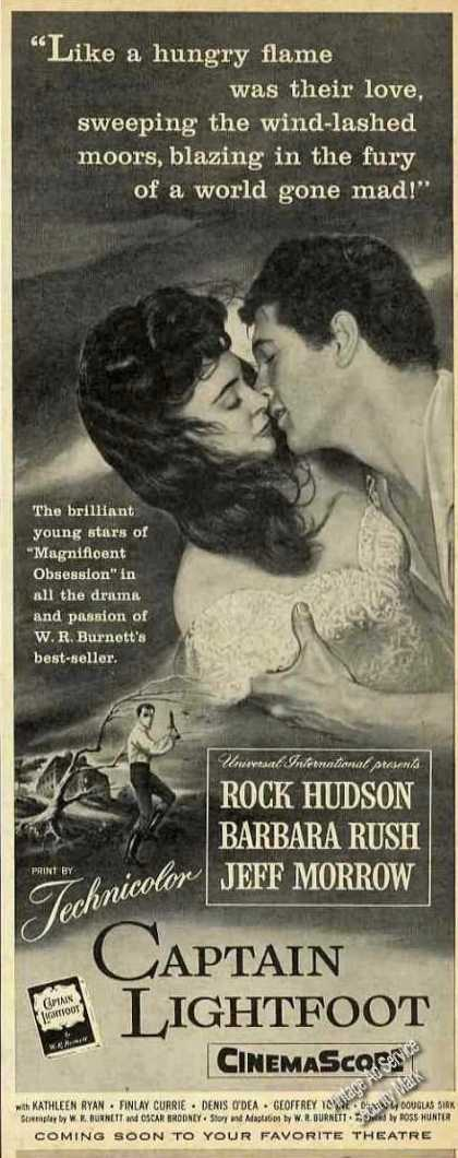 "Rock Hudson ""Captain Lightfoot"" Movie (1955)"
