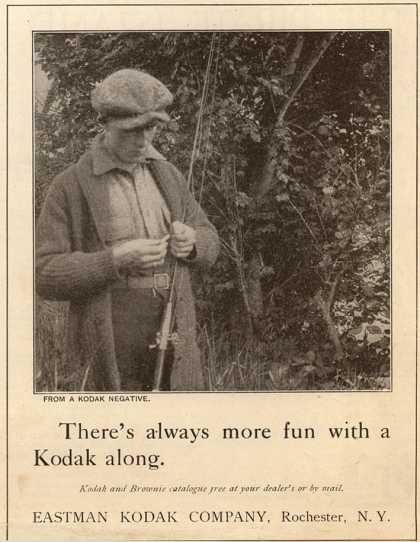 Kodak – There's always more fun with a Kodak along (1921)