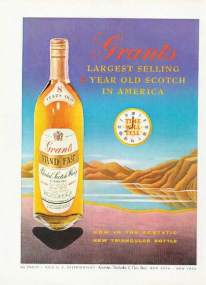 Grant's Scotch Whiskey Bottle (1958)