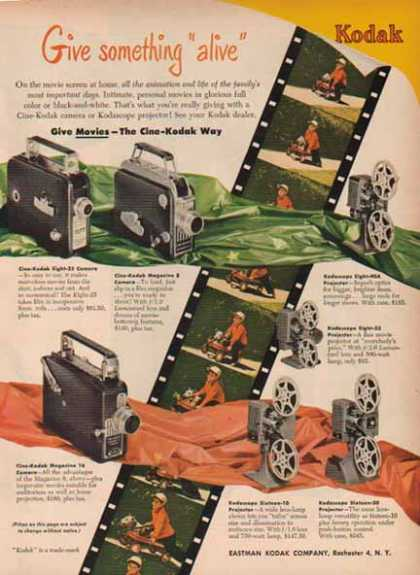 Kodak Movie Camera – Rochester 4, New York (1948)