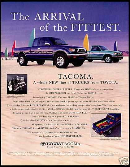 Toyota Tacoma Truck Pickup Photo (1995)