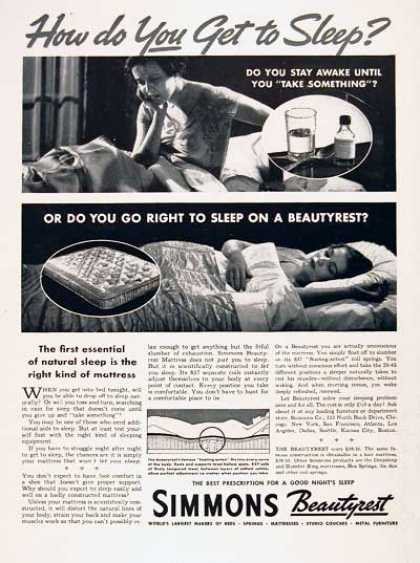 Simmons Mattress (1937)