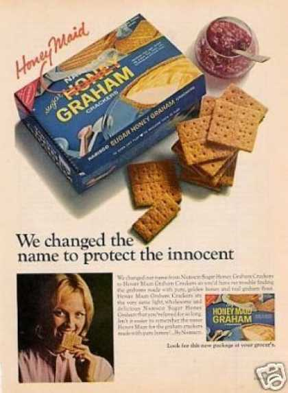 Nabisco Honey Graham Crackers (1966)