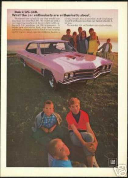 Buick GS 340 Vintage Photo Print Car (1967)
