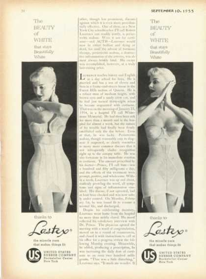 Lastex Girdle Photo (1955)