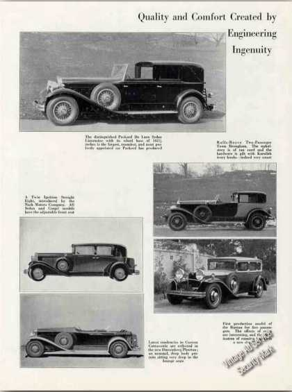 Luxury Car Photos Packard/rolls/n (1930)