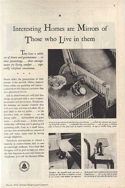 Bell's Telephone Convenience (1930)