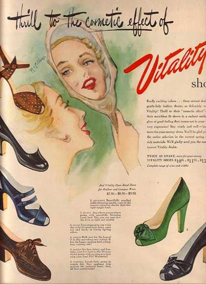 Vitality's Cosmetic Effect (1949)