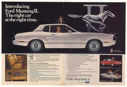 Ford Mustang II Ghia Introduction (1974)
