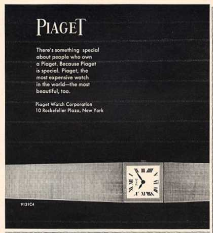 Piaget Wrist Watch (1966)