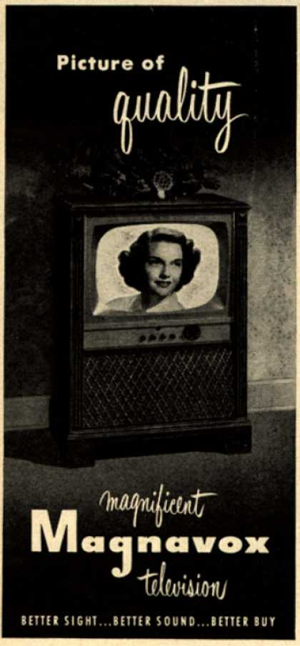 Magnavox Company's Television – Picture of quality (1953)