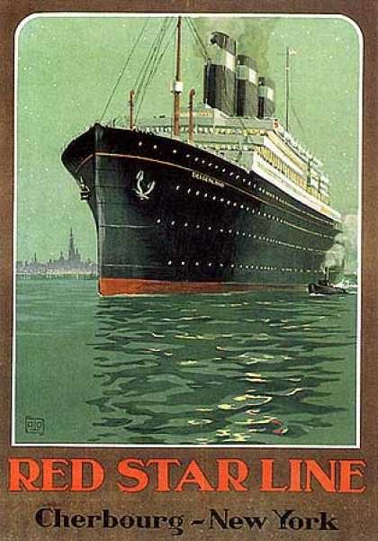 Red Star Line by Charles Allo (1930)