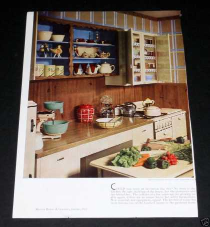 Period Kitchen Style & Decor (1935)