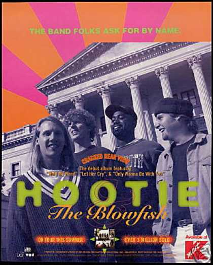 Hootie & The Blowfish Debut Album Promo (1995)