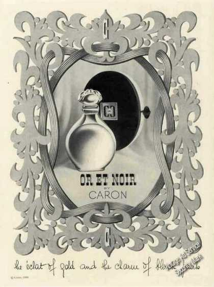 Or Et Noir By Caron Perfume (1951)
