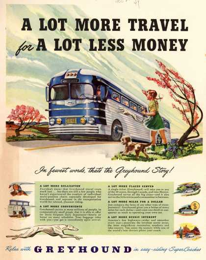 Greyhound – A Lot More Travel for A Lot Less Money (1949)