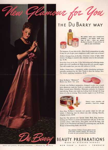 Richard Hudnut's Various – New Glamour for You The DuBarry Way (1939)