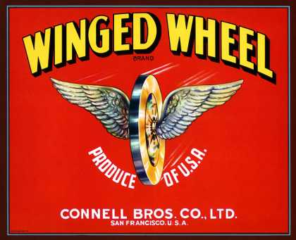 Winged Wheel Apples, c. 			s (1930)