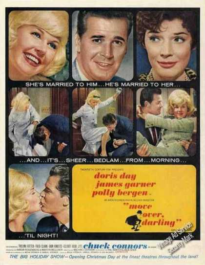Move Over Darling Doris Day/james Garner Movie (1963)