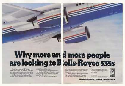 Boeing 757 Airliner Rolls-Royce 535 Engine 2-Pg (1983)