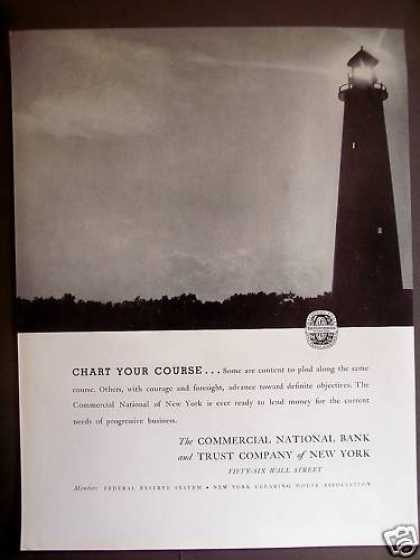 Commercial National Bank & Trust Ny Lighthouse (1934)