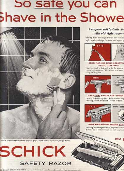 Schick's Safety Razor (1959)