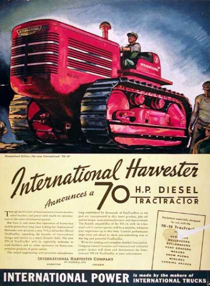 International Diesel Tractor #2 (1939)