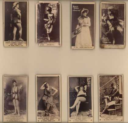 W. Duke Sons & Co.'s Duke's Cameo Cigarettes – Actors/Actresses – Image 4
