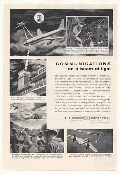 Decker Modulated Light Aircraft Communications (1958)