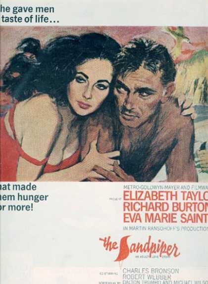 The Sandpiper (Elizabeth Taylor, Richard Burton and Eva Marie Saint) (1965)