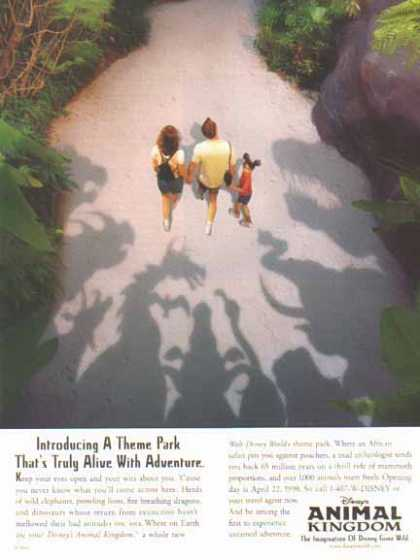 Disney's Animal Kingdom – Alive with Adventure. (1998)