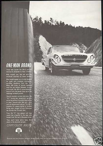 Chrysler 300g 300-G Car Photo Mt Road Vintage (1961)