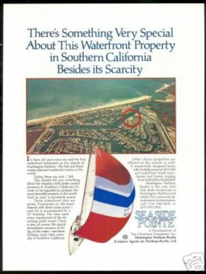 Seaside Point Cal Huntington Harbour Realty (1982)