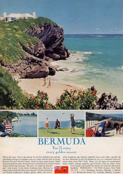 Bermuda Travel Beach Golf (1964)