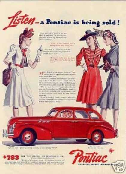 Pontiac Special Six 4-door Touring Sedan (1940)