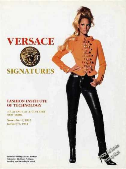 Versace Signatures Fashion Institute Technology (1992)