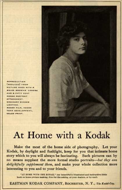 Kodak – At Home with a Kodak (1912)