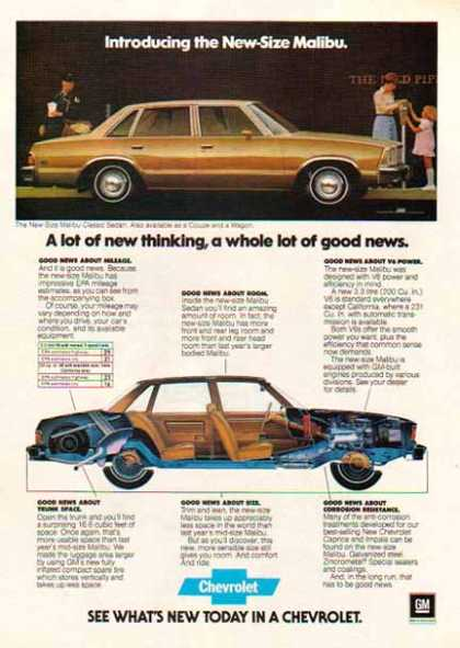 Chevrolet Car – Malibu / Gold – GM (1977)