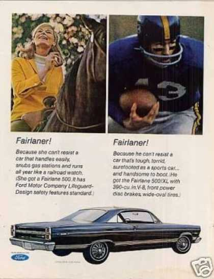 Ford Fairlane 500/xl 2-door Car (1967)